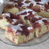 Ciasto z rabarbarem