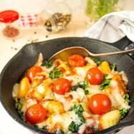 Gnocchi z sosem pomidorowym i serem