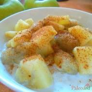 Ryż z prażonym jabłkiem i bananem (bez nabiału)