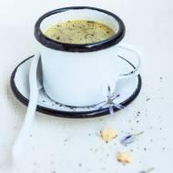 Aksamitna zupa szczawiowa z jajkiem