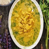 Kurczak orientalny z curry