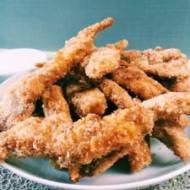 Kąski z kurczaka z sosem czosnkowym
