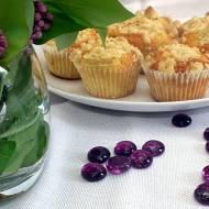Muffiny jogurtowe z jabłkami i kruszonką