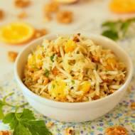 Surówka z selera z orzechami i pomarańczą