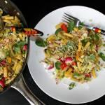 Makaron z warzywami – kolorowo i zdrowo
