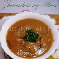 Zupa krem z borowików wg Aleex