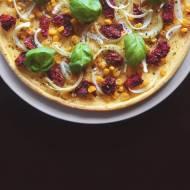 Dietetyczna pizza – bez sera, bez sosu pomidorowego