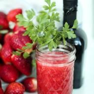 Winegret truskawkowy