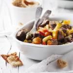 Gulasz z warzywami i wołowiną