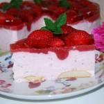 Truskawkowy raj ciasto bez pieczenia