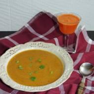 Jamajska zupa dyniowa
