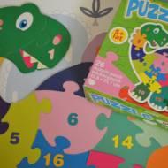 Puzzle dwustronne dla 5 latków