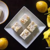 Sernik Śnieżny Puch - bez pieczenia, z kokosem i cytryną