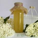 Syrop z kwiatów czarnego bzu - bez cukru
