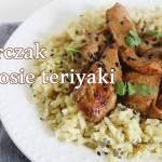 Pierś z kurczaka w sosie teriyaki