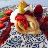 Uniwersalne ciasto naleśnikowe i Naleśniki po królewsku