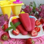 Lody truskawkowo-jogurtowe
