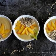 Kremowe smoothie bowl ze słonecznikiem