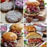 Burgery wołowo-jagnięce z marchewką