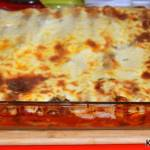Zapiekane cannelloni z kurczakiem i grzybami