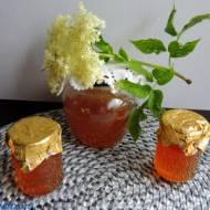 Syrop z miodem z kwiatów bzu czarnego