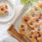 Kefirowe ciasto z truskawkami