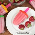 lody truskawkowo jogurtowe