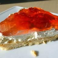 Ciasto Nalusi – z kremem i truskawkami