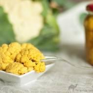Kalafior marynowany w curry