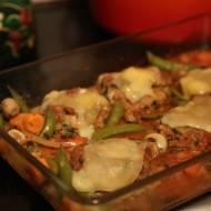 Klopsy zapiekane w piekarniku w sosie pomidorowym