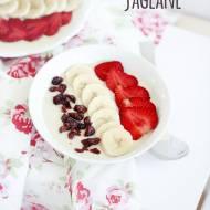 Smoothie bowl jaglane