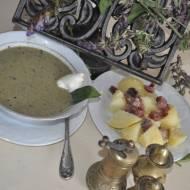 zupa szczawiowa z szalwia