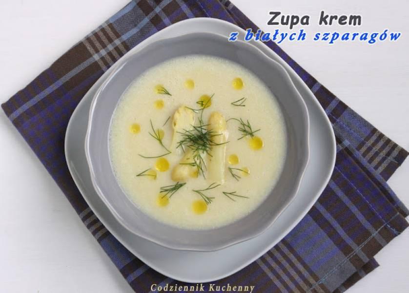Przepis Na Zupa Krem Z Bialych Szparagow Codziennik Kuchenny