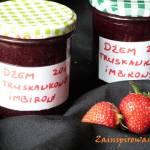 Dżem truskawkowy z nutą imbirową