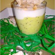 Lekki zielony deser (w kilka chwil)