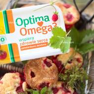 Muffiny z truskawkami i konkurs z Optima Omega3 ♥