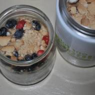 smaczne ,zdrowe ,pożywne sniadanie na wynos ,lub w domu
