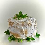 Tort cytrynowo miętowy- oldschoolowy