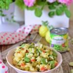 Risotto z groszkiem i warzywami