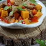 Wieprzowina curry z kokosem