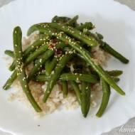 Fasolka szparagowa po chińsku