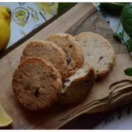Kruche ciasteczka maślane z cytryną, miętą i czekoladą czyli Czwartkowe Słodkości odc.