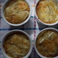 Puree ziemniaczano – kalafiorowe zapiekane pod camembertem