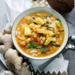 Curry z młodych ziemniaków