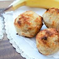 Ciasteczka dwuskładnikowe, bananowo – kokosowe