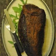 Ligawa, wołowina pieczona w niskiej temperaturze bez soli