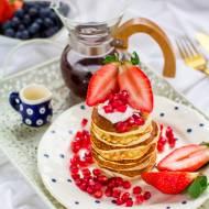 Pancakes z mąki kokosowej