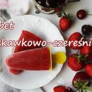 Sorbet truskawkowo-czereśniowy