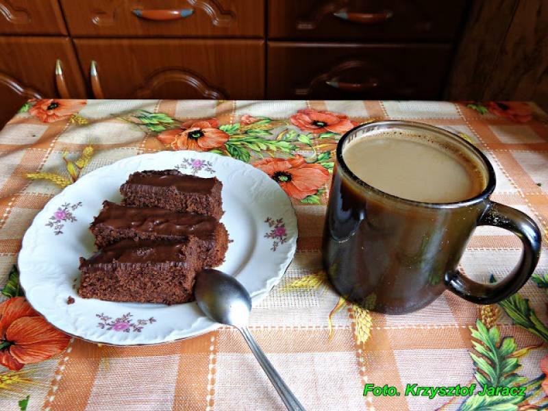 Kawa z ciasteczkiem w niedzielne popołudnie.