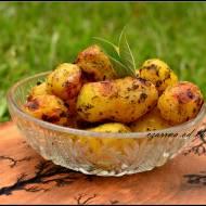 Ziemniaki z masłem cafe de paris
